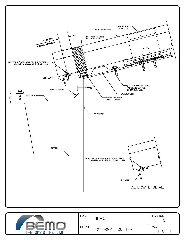 Project Detail Drawings Bemo Usa