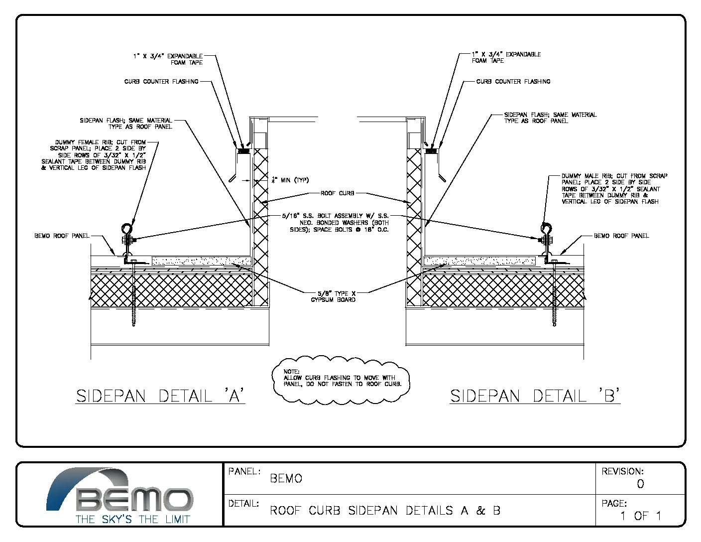 Project Detail Drawings Bemo Usa